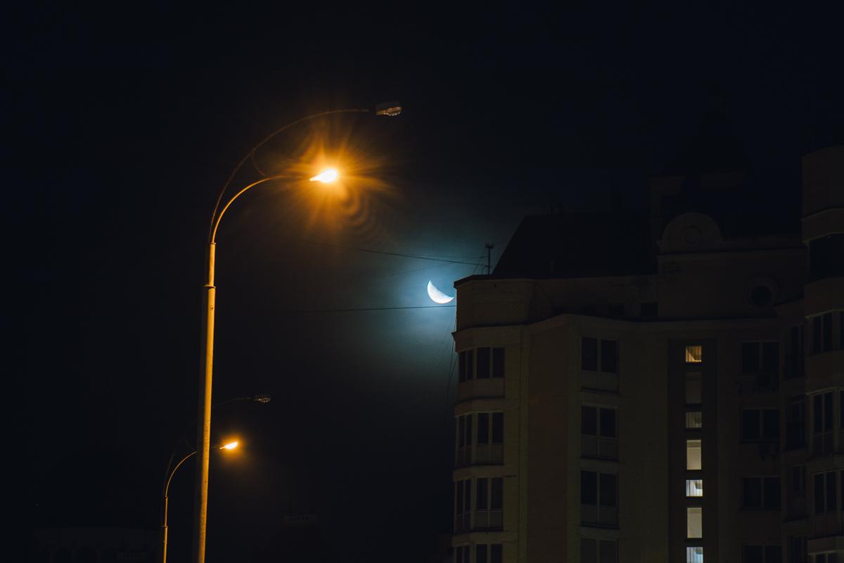 Этой ночью можно было насладиться безоблачным небом
