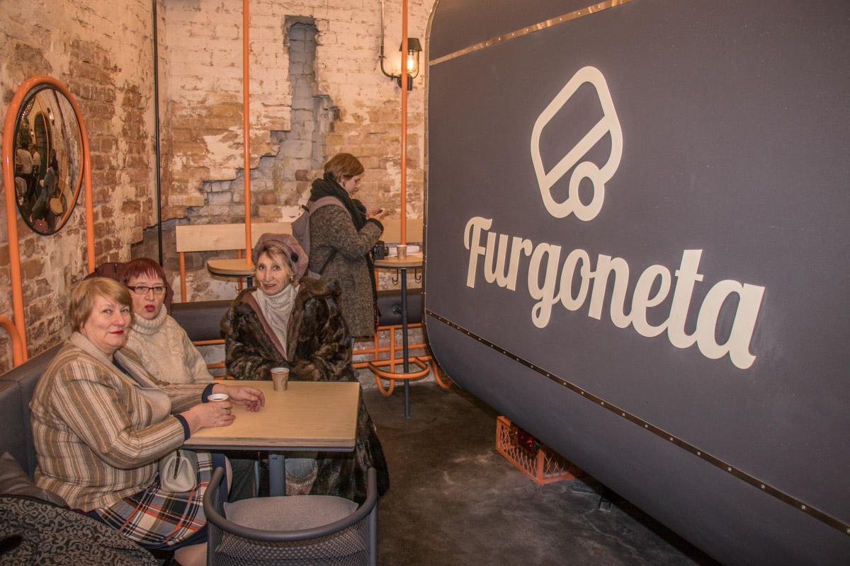 Презентація нового бургера відбувалась в ресторані швидкого харчування Furgoneta