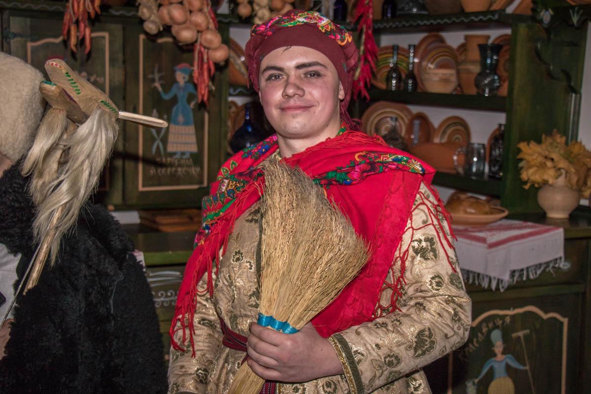 Меланка - фольклорный персонаж Щедрого вечера