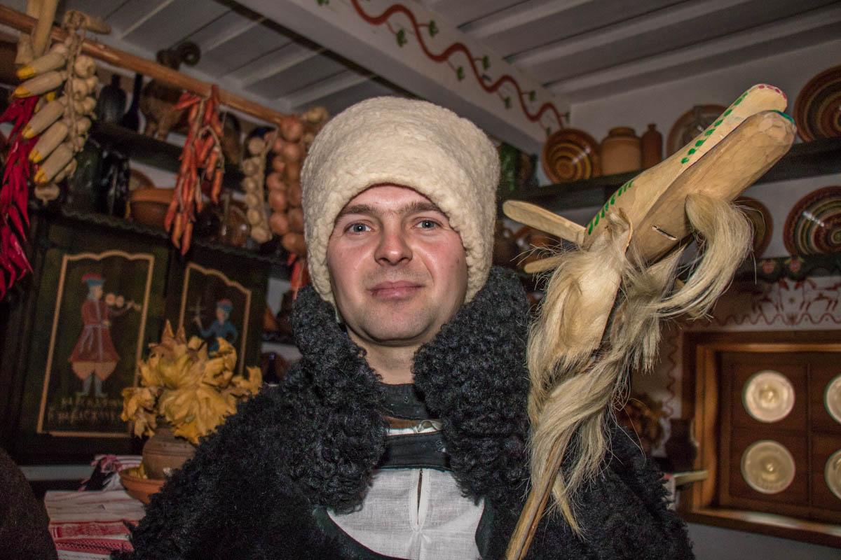 Коза - фольклорный персонаж Щедрого вечера