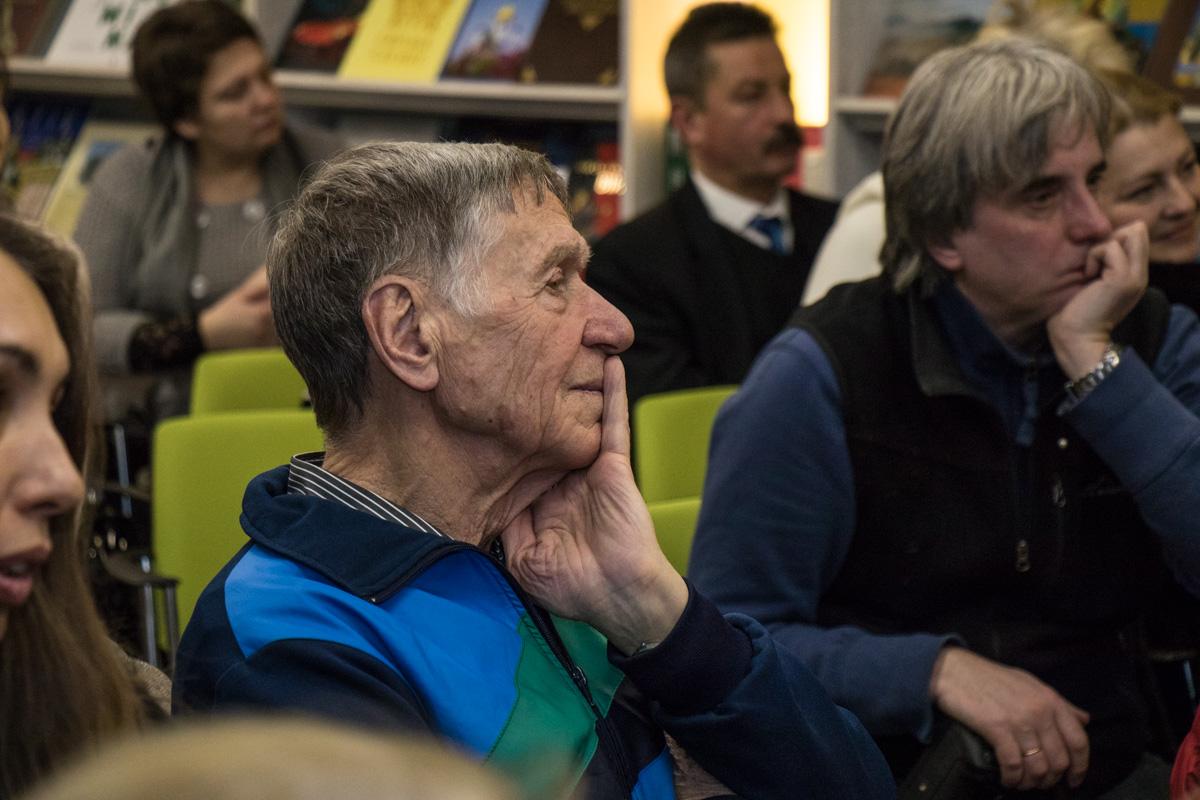 На презентации присутствовали люди всех возрастов