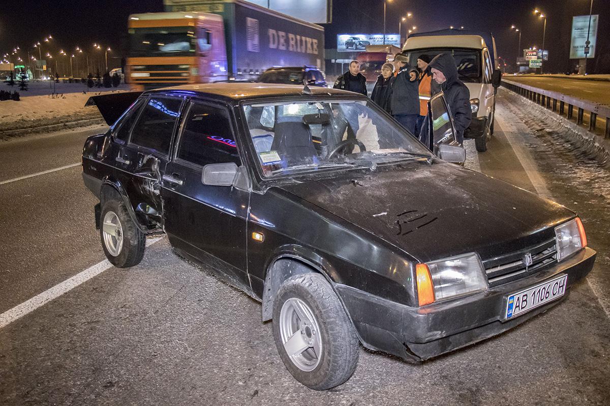 Полицейские подозревают, что водитель Lada находился в состоянии наркотического опьянения