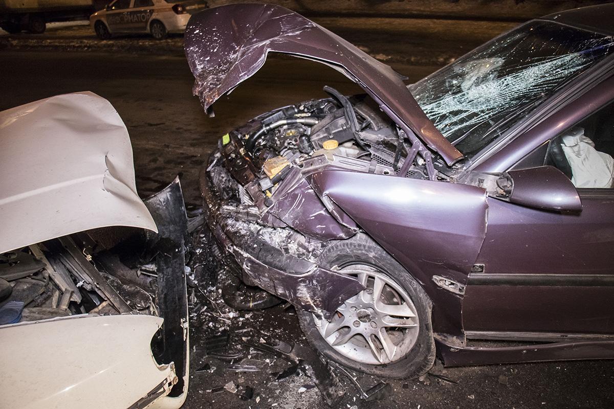 Водитель Opel Astra от госпитализации отказался