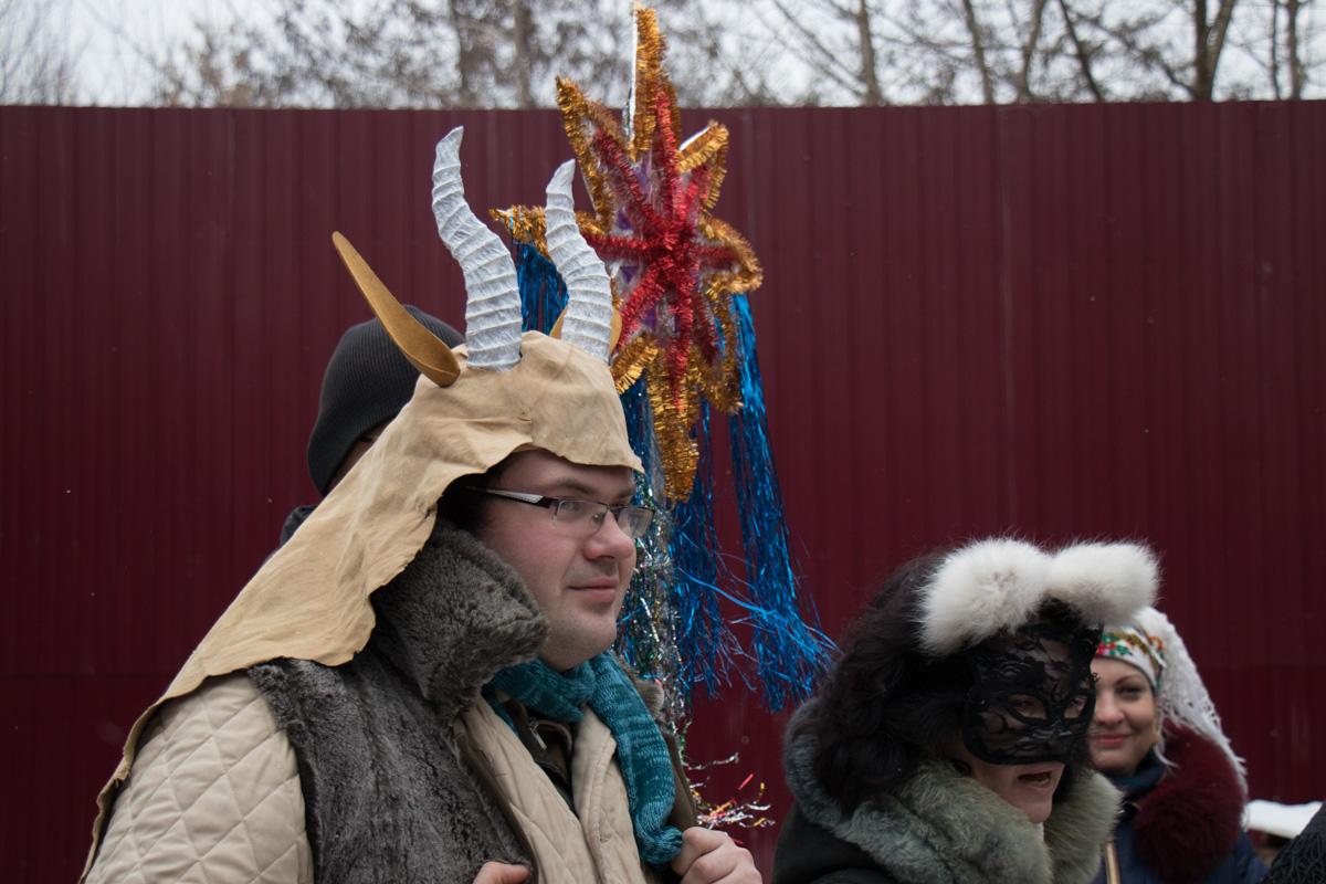 Коза - традиционный обрядовый элемент празднования Старого Нового года