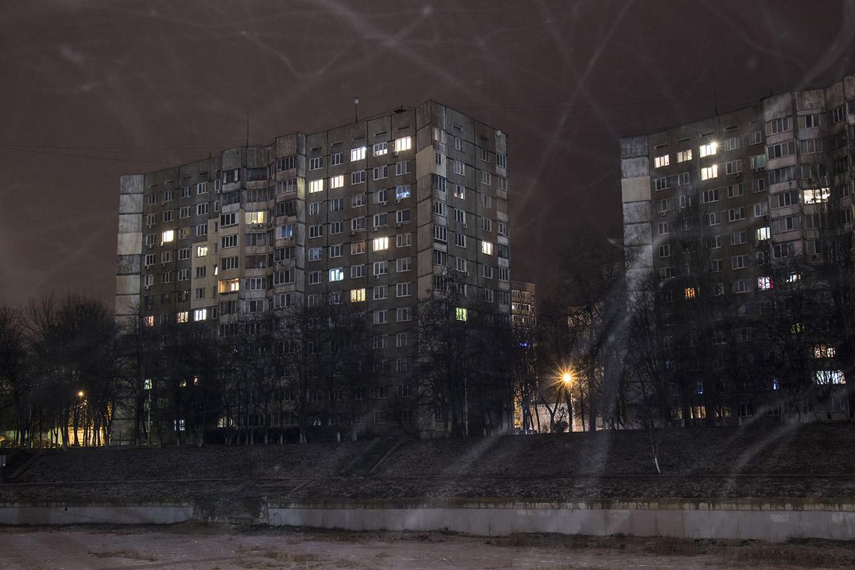 Огни многоэтажек