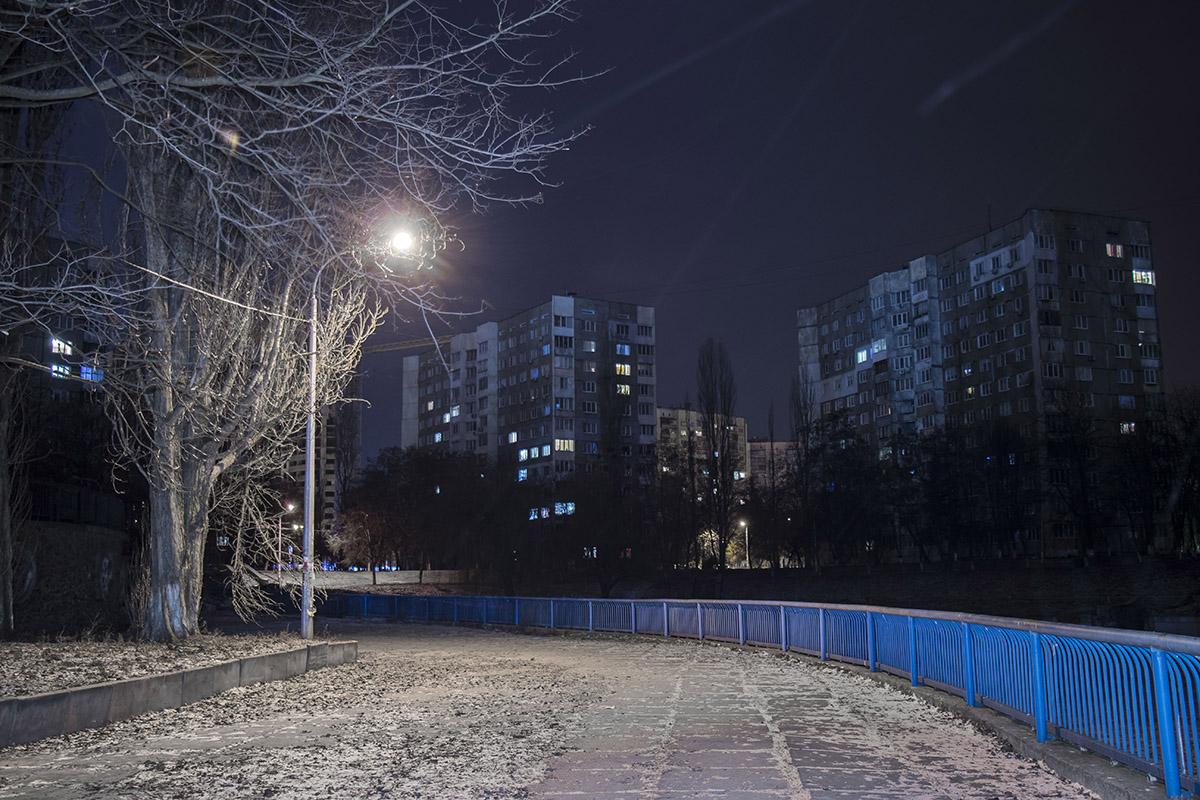 Отличное место для ночной пробежки