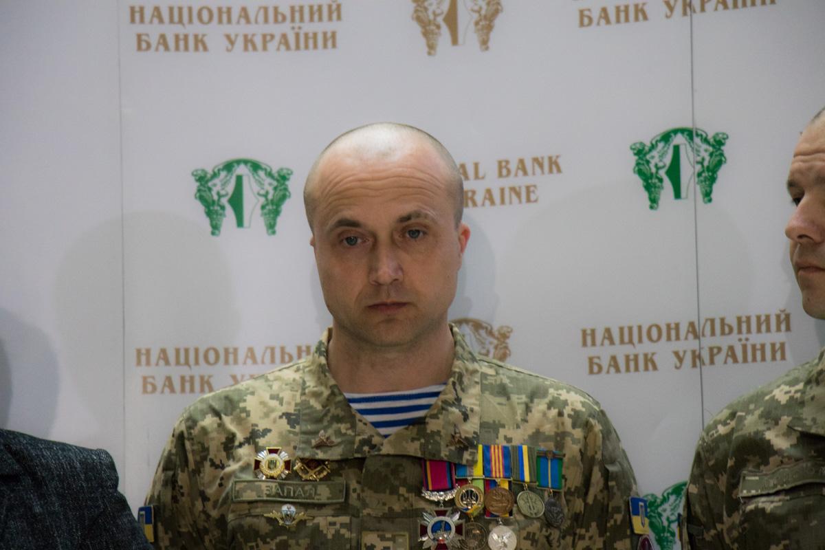 Защитник Донецкого аэропорта Александр Берещук
