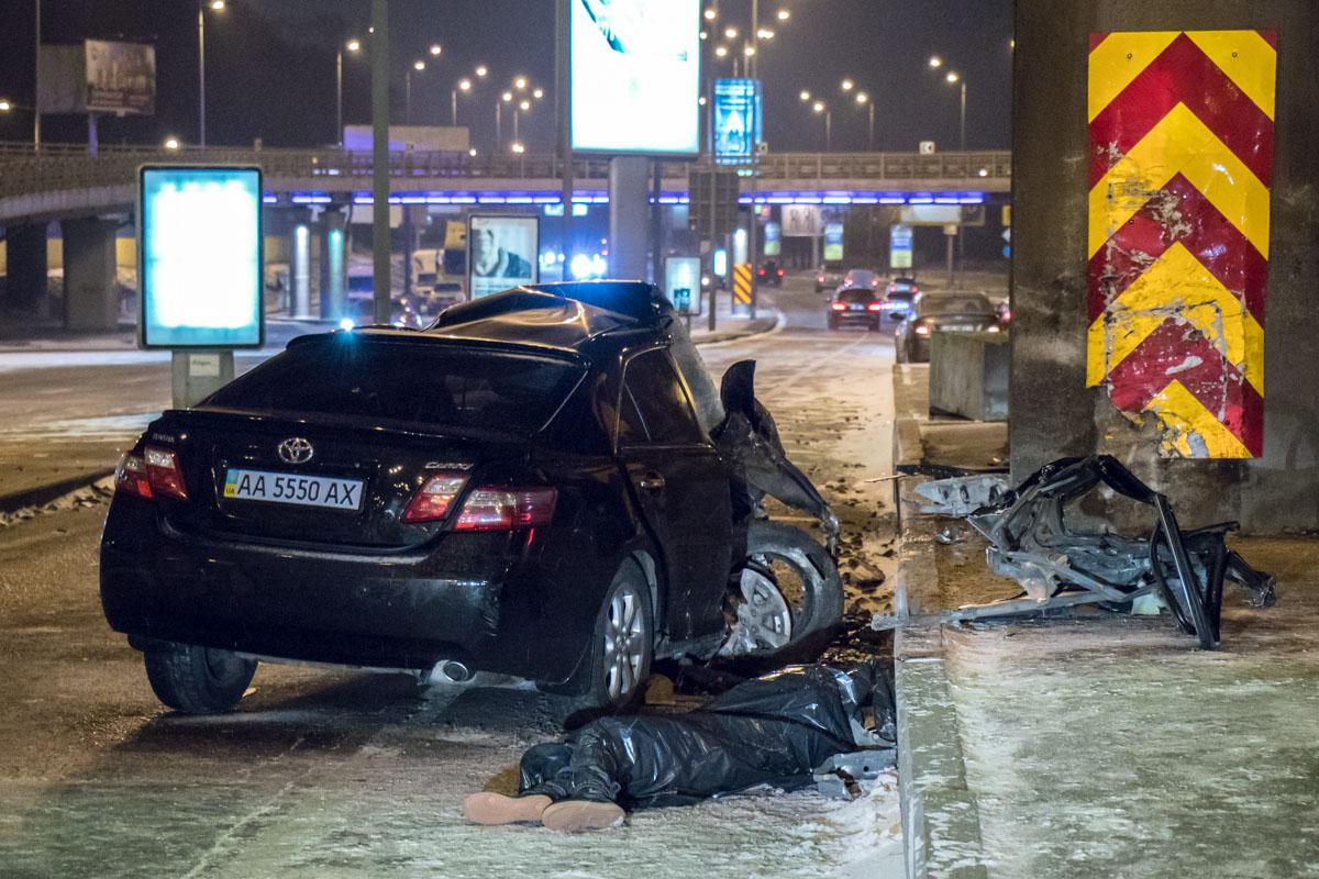 Пассажир погиб на месте