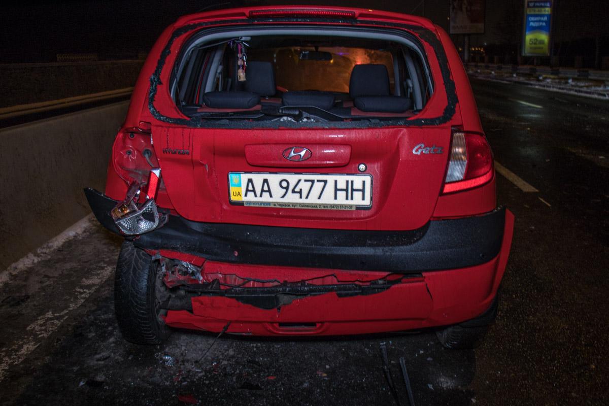 Все автомобили получили серьезные повреждения