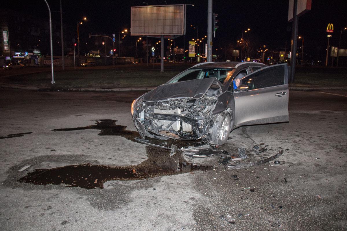 К счастью, никто из водителей не пострадал