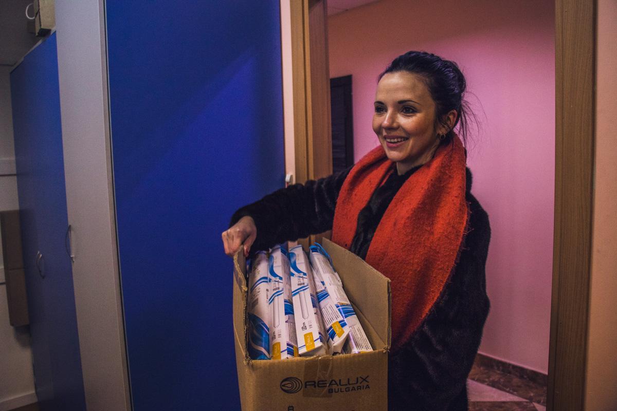 Киевляне охотно несут отходы на утилизацию