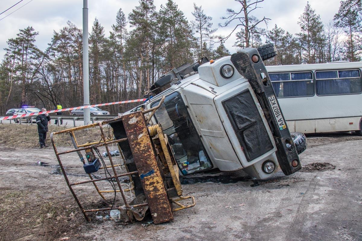 На Минском шоссе произошло ДТП