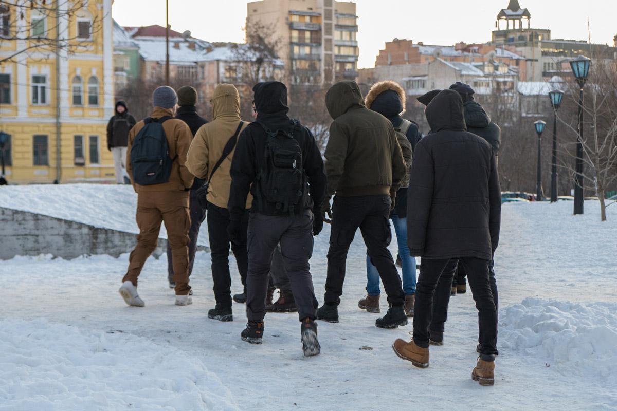 Митингующие разошлись так же быстро, как и собрались