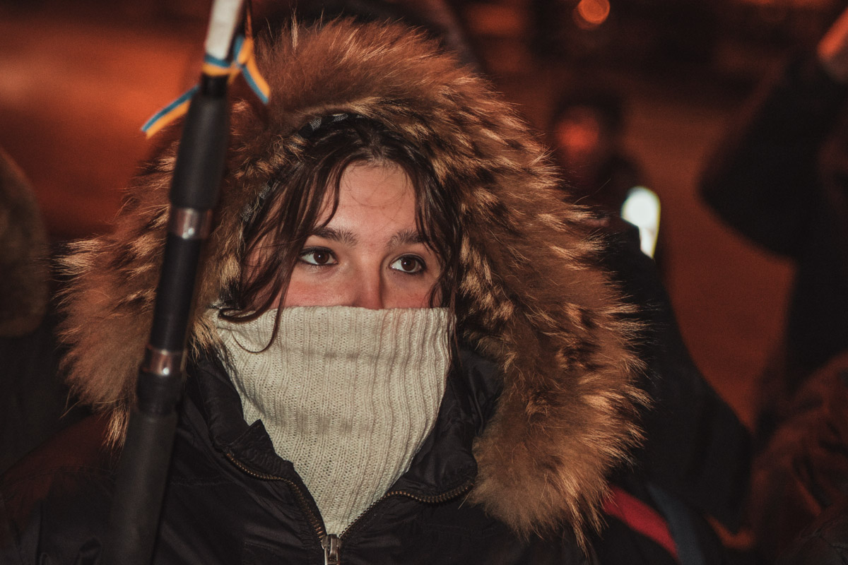 Поддержать активистов митинга приехали знакомые Михаила Жизневского из Беларуси
