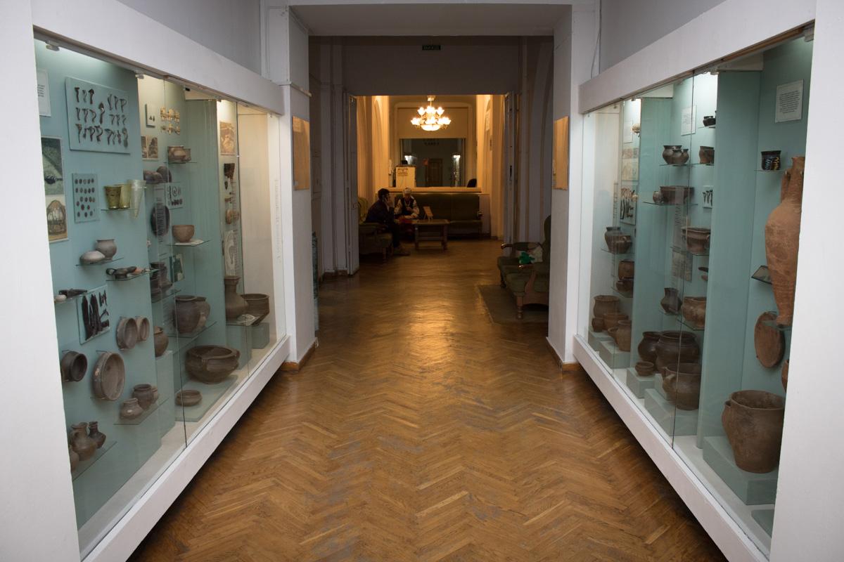 В Национальном музее истории Украины была своя атмосфера