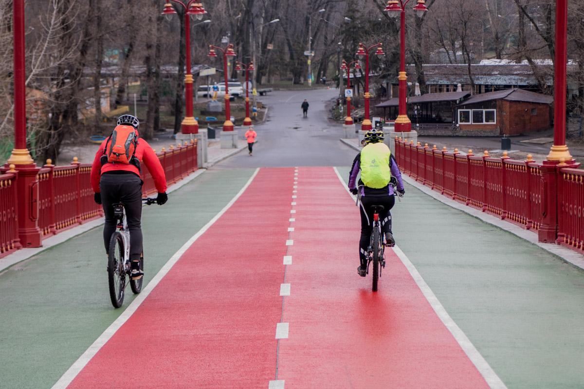 Праздник - идеальное время для велопрогулки