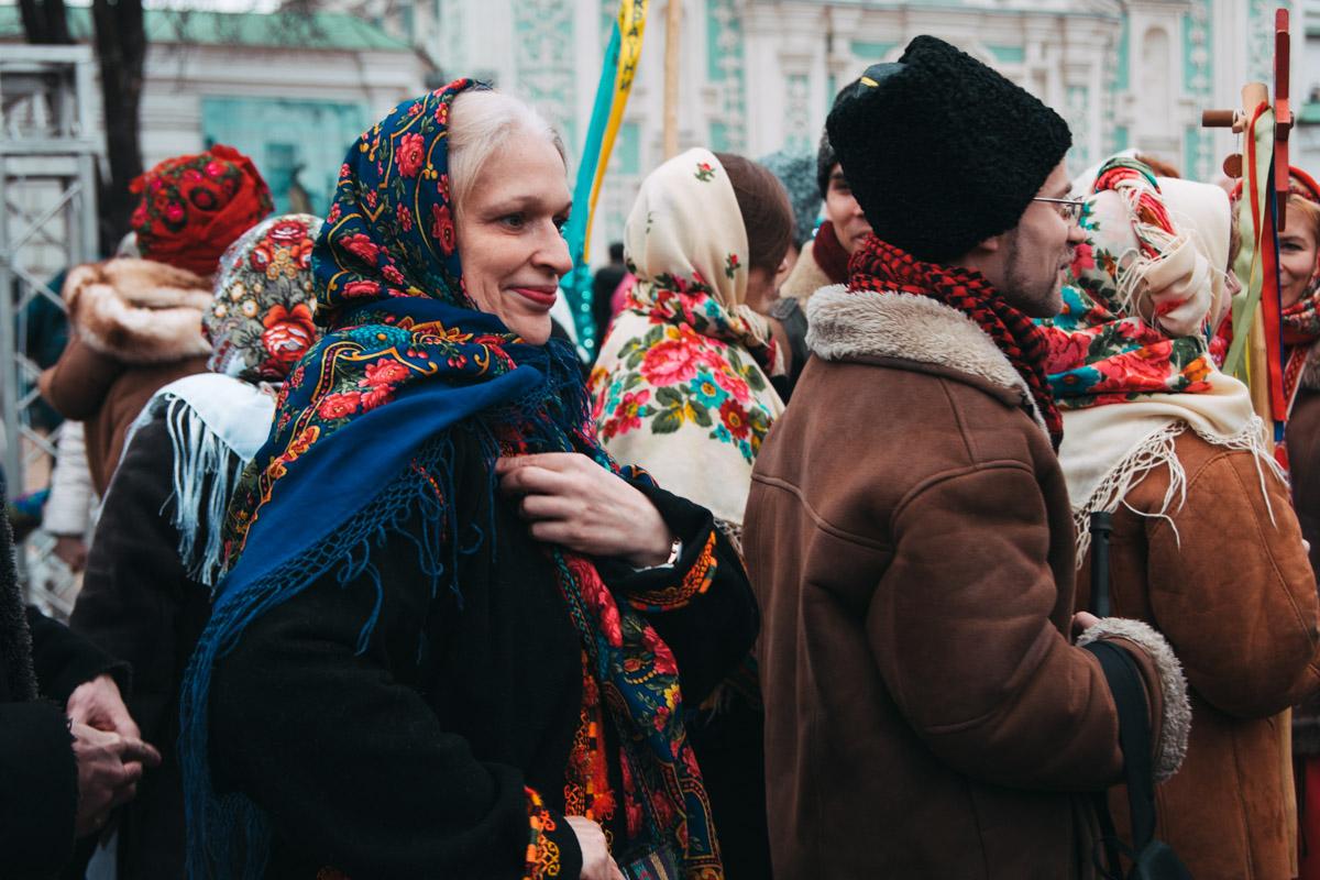 На Софийской площади выступали сразу несколько коллективов