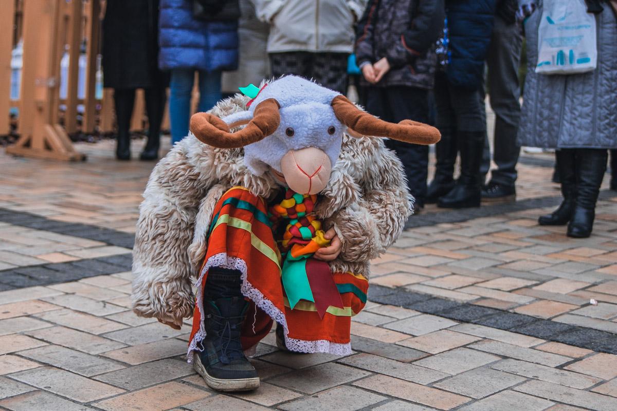 Традиционный обряд вождения козы