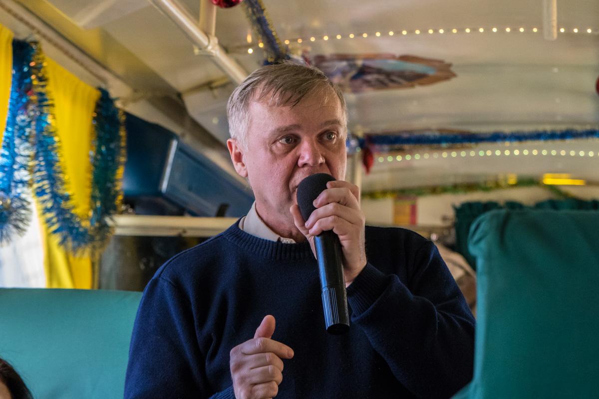 Александр Шарафан рассказал увлекательные истории о Киеве