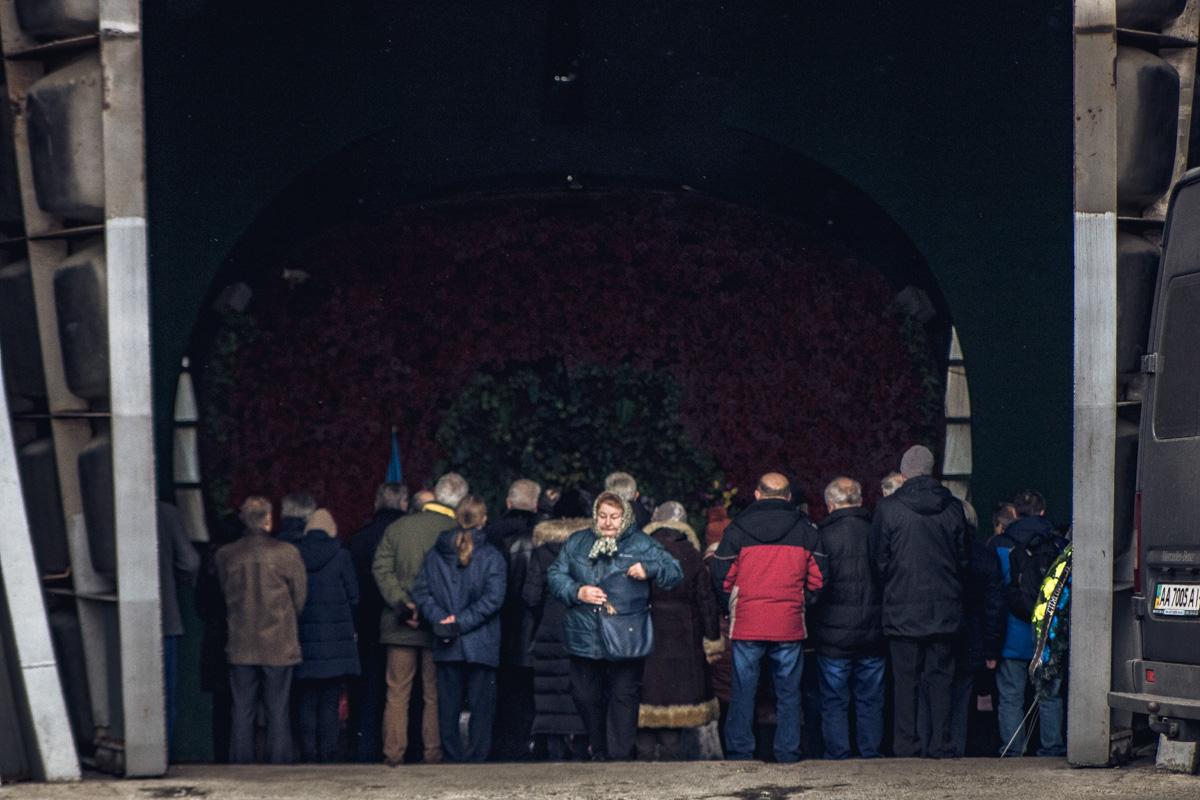 Действующий Киевский крематорий