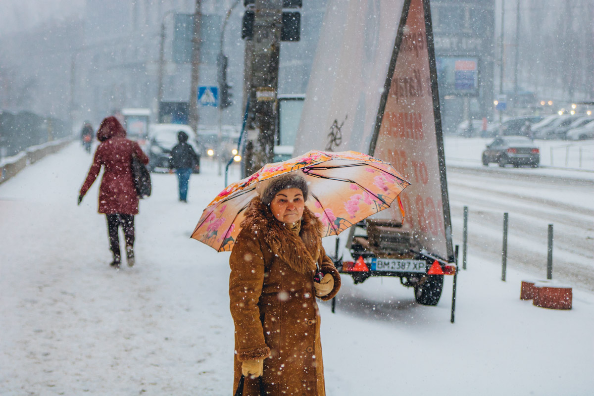 Снежная погода радует не всех