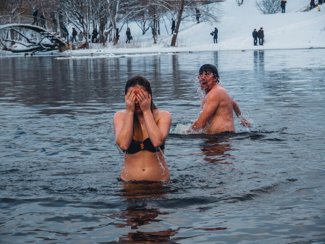 Крещение удалось для всех