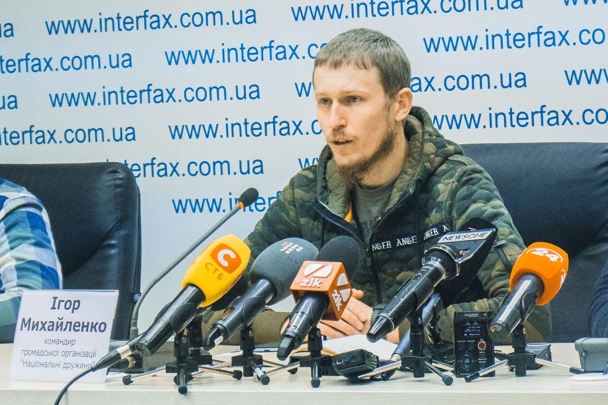 Игорь Михайленко рассказал, что из-за сбежавшего Президента два года провел в СИЗО, поэтому сейчас хочет защитить свой народ