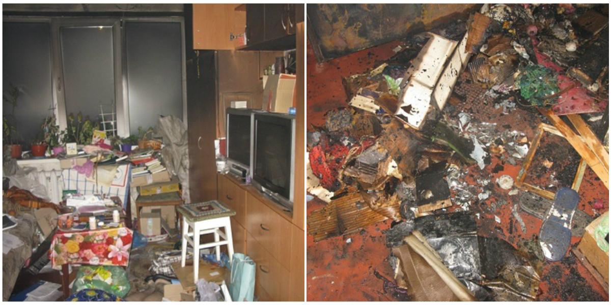 Мужчина убил тетку и чтобы скрыть следы преступления, поджег квартиру вместе с телом убитой