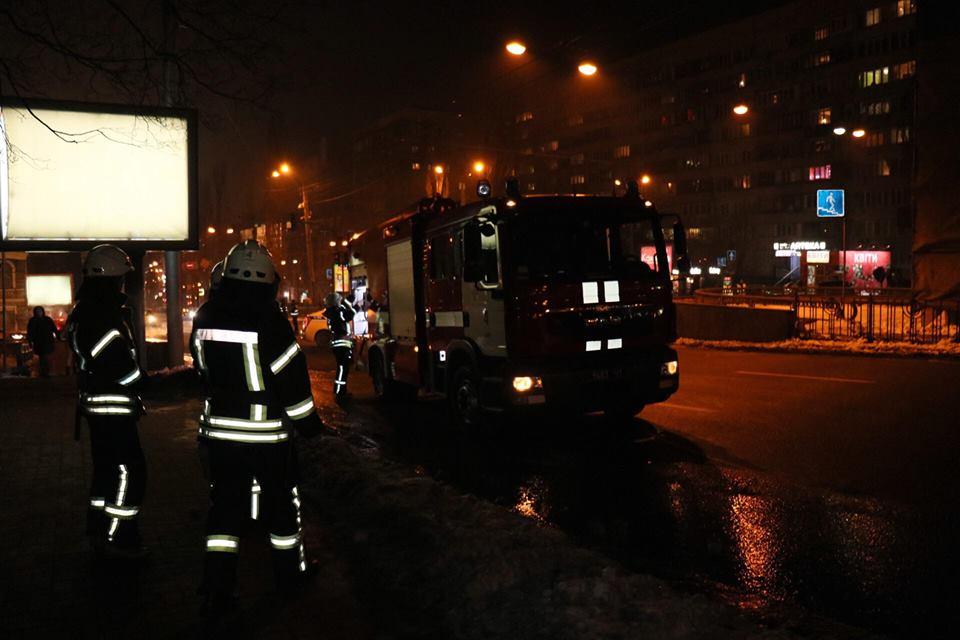 Пожарные оперативно потушили возгорание