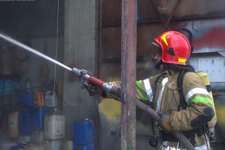 Огонь тушили 50 пожарных