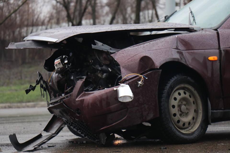 Водители авто не пострадали