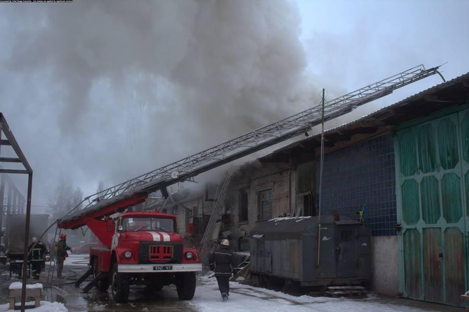 К ликвидации огня привлекли 13 единиц техники