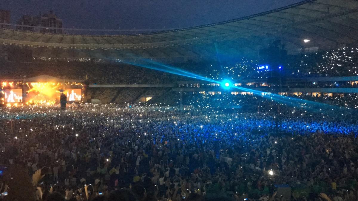 Последний концерт в Киеве был в 2016 году