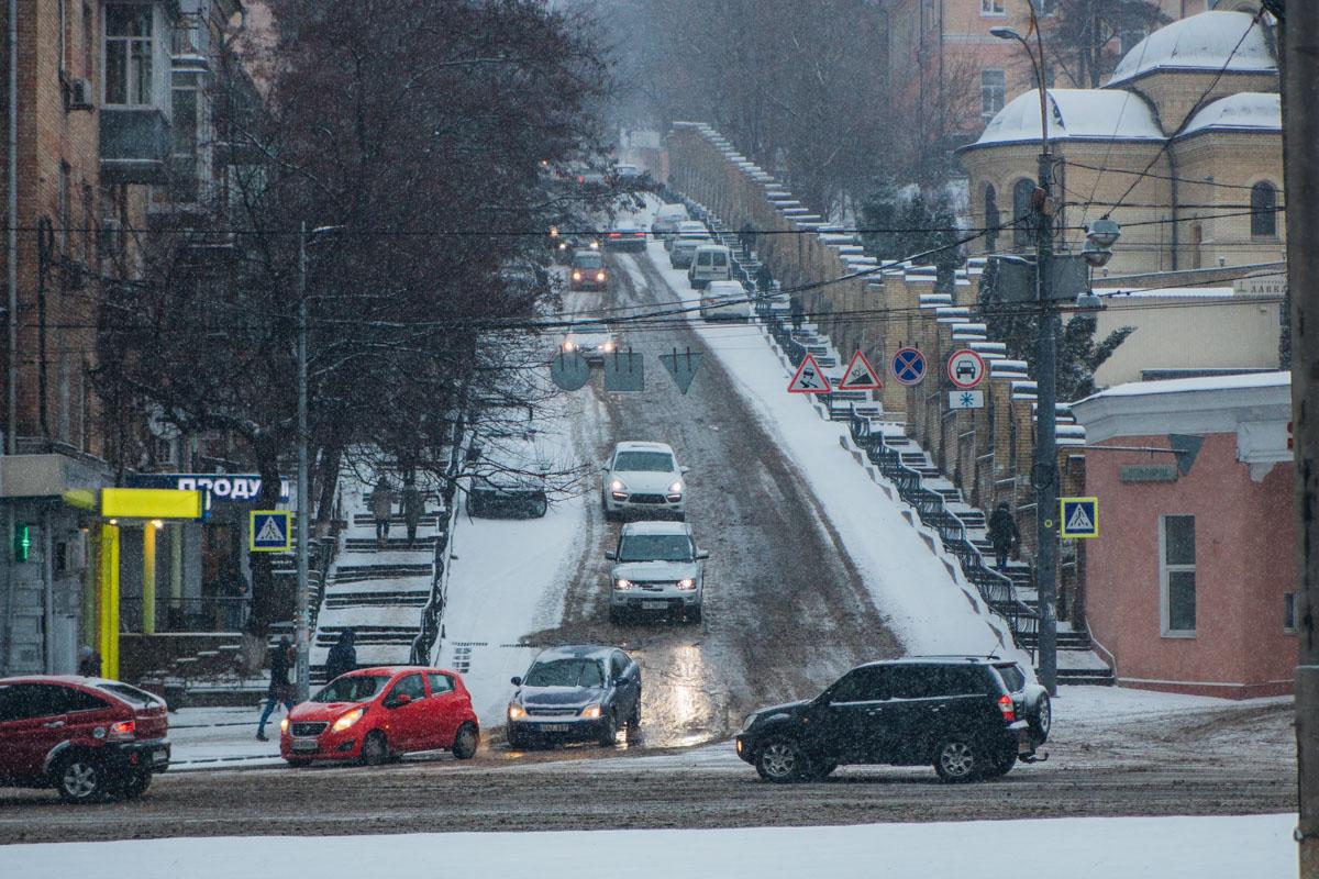 Водителей призвали быть осторожными на дорогах