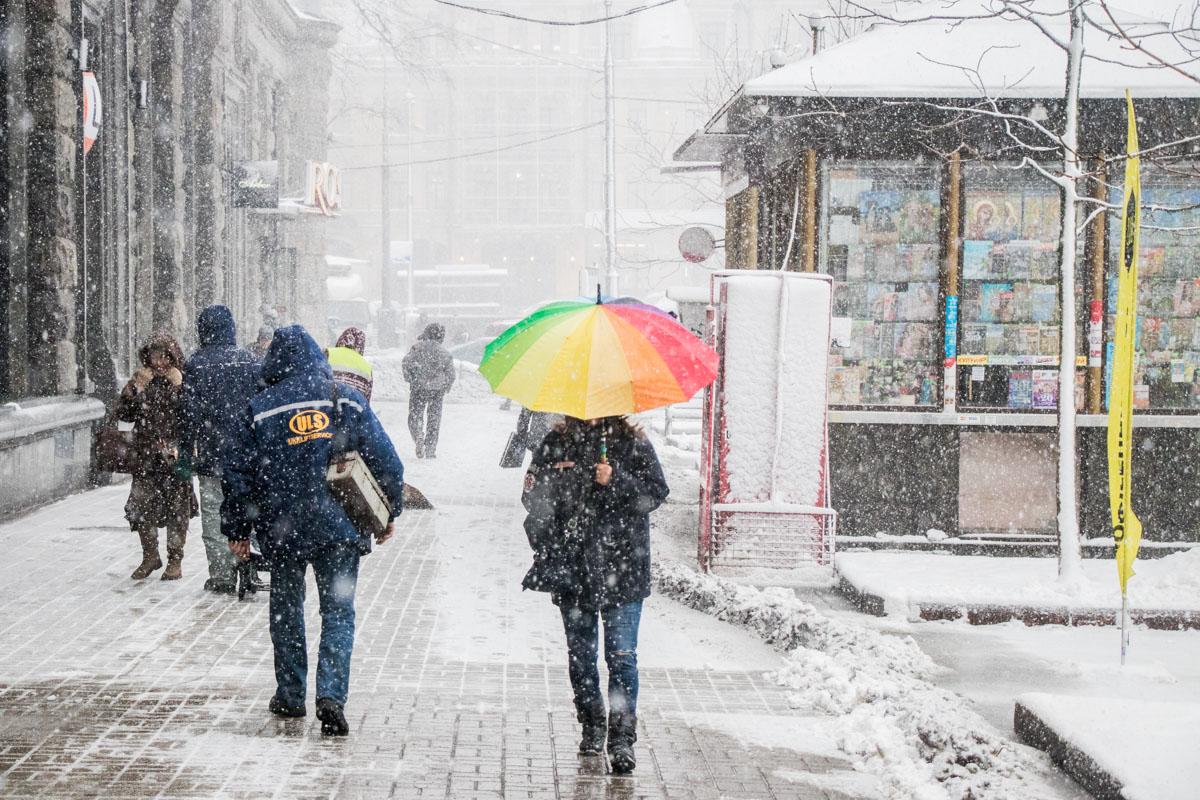 18 января в Украине ожидается осложнение погодных условий