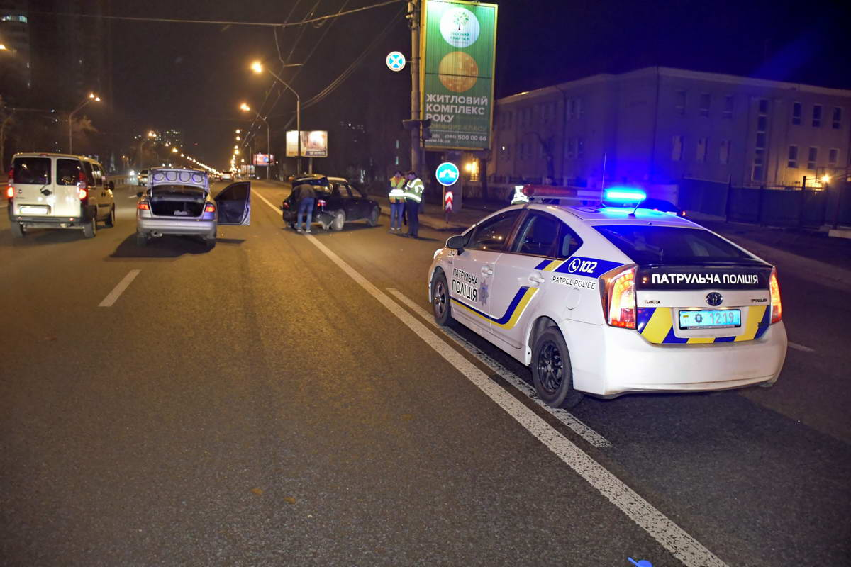 В результате ДТП пострадали пассажиры обоих авто