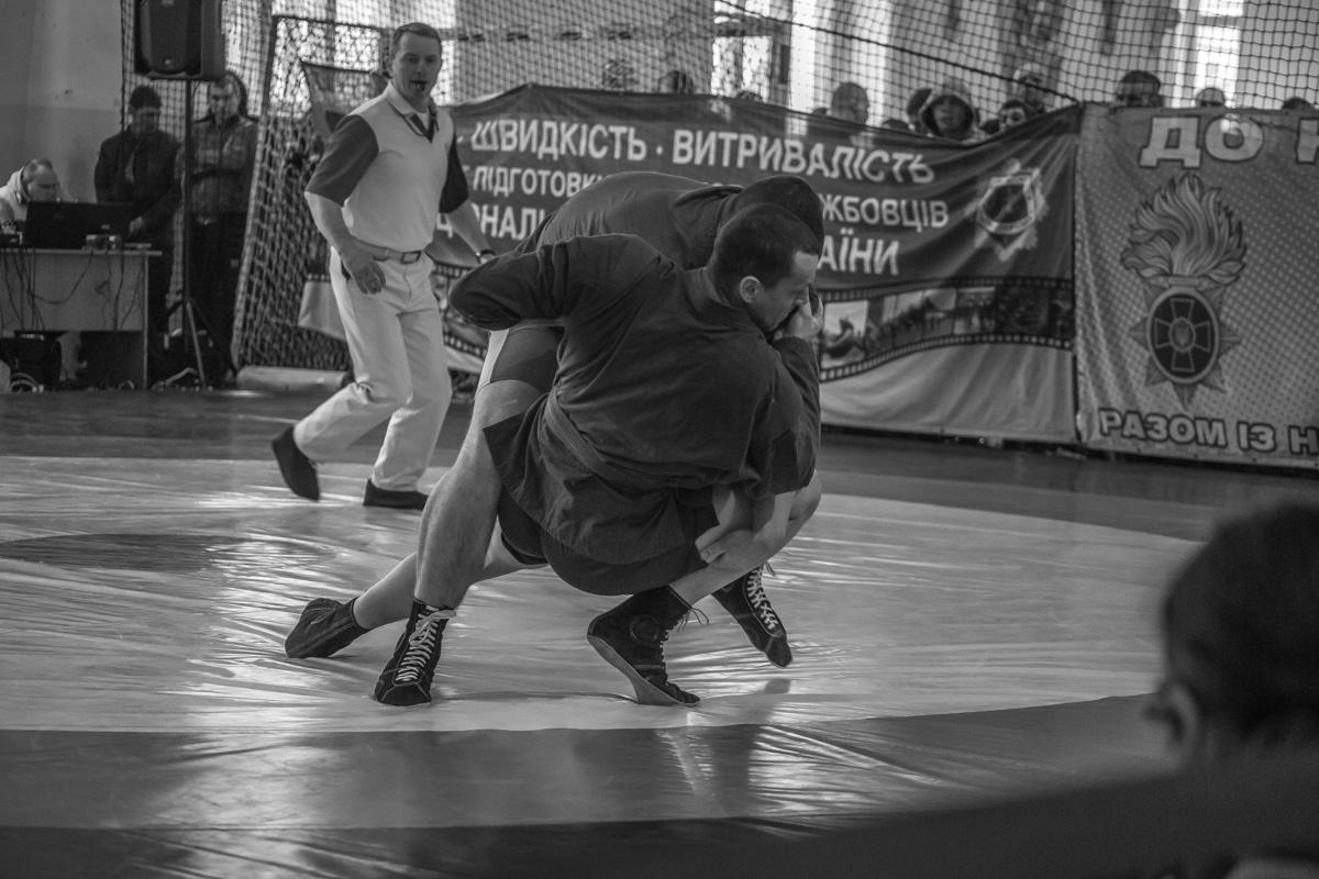 В Центральном спортивном клубе прошли соревнования по самбо