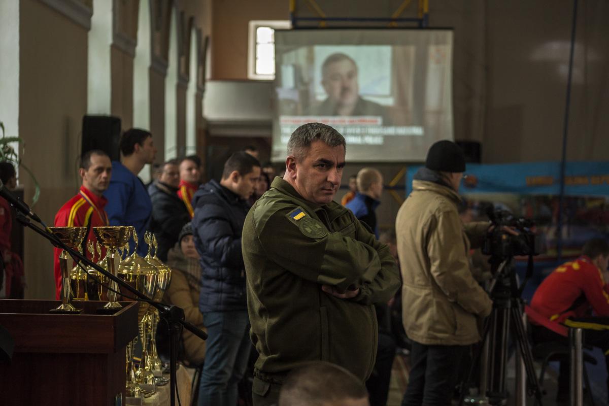 На мероприятии присутствовало руководство Национальной гвардии Украины