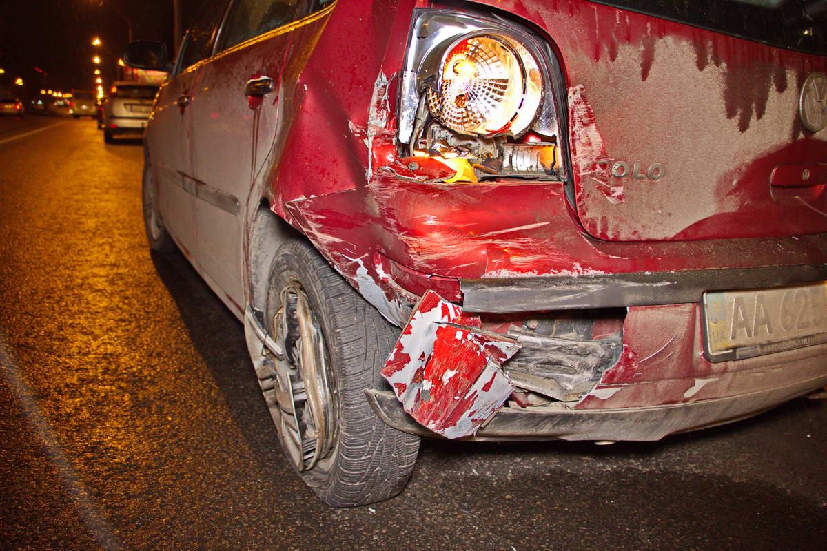 Повреждения Volkswagen