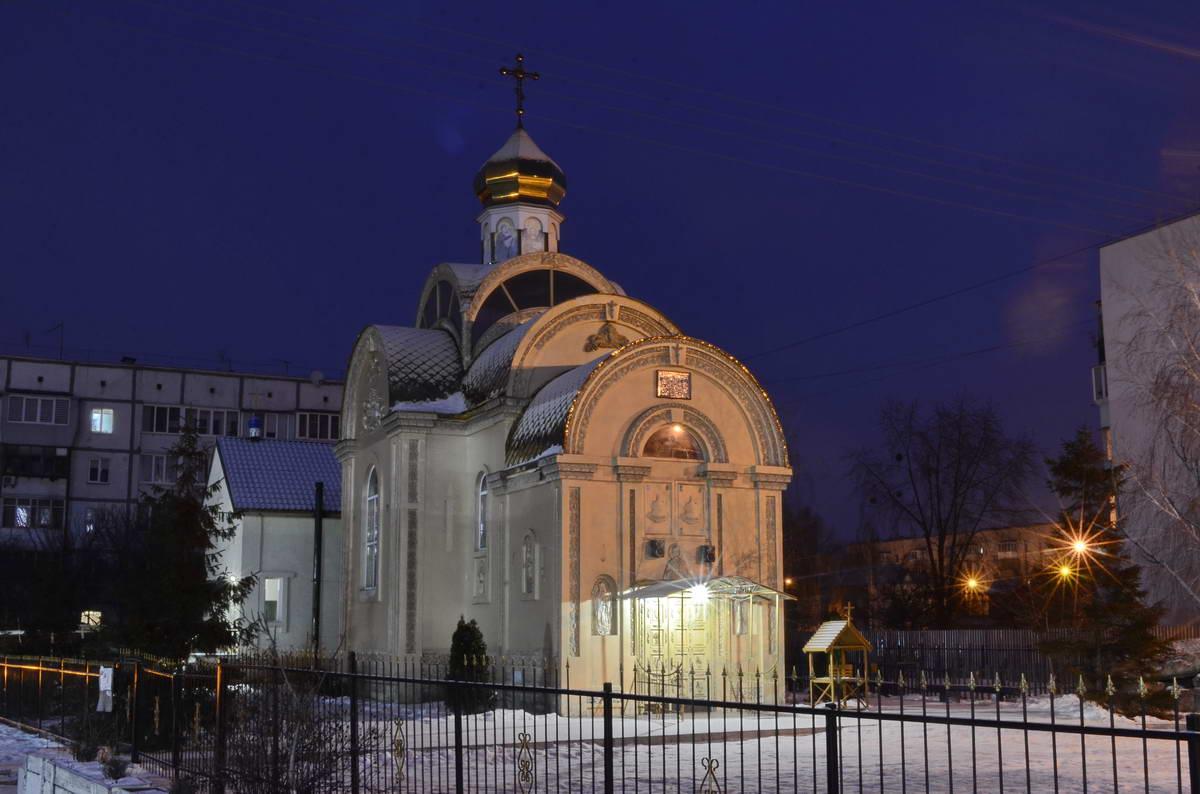 Маленькая местная церквушка
