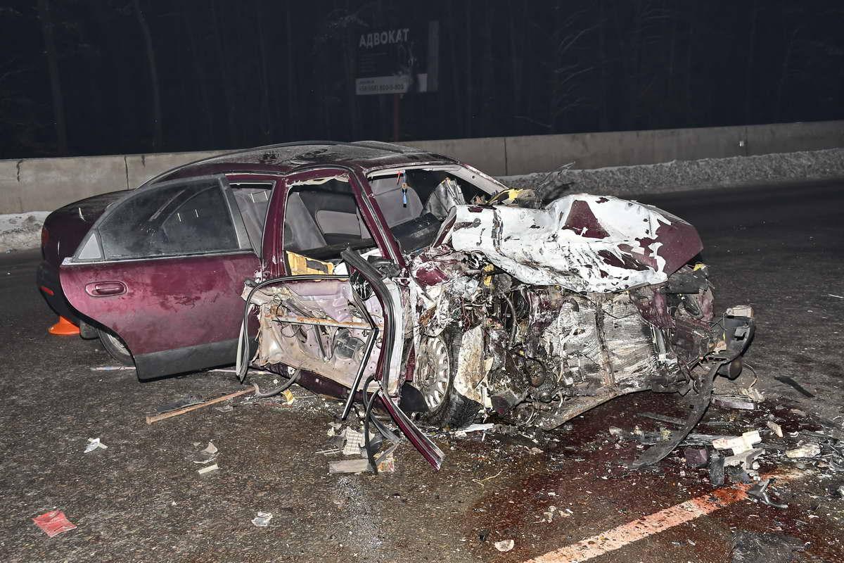 Пассажир Mazda находится в реанимации