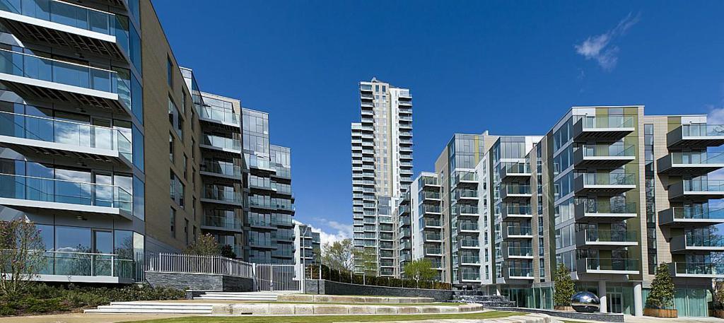 В этом новострое находится самая дешевая квартира в Лондоне
