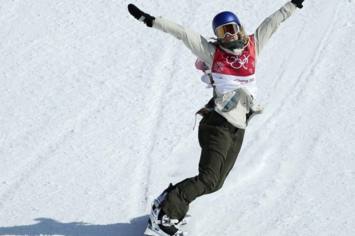 В сноубордесреди женщин золото получила австрийка Анна Гассер