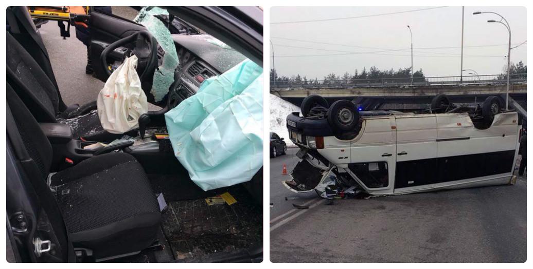 Под Киевом разбился автобус сошкольниками, необошлось без жертв