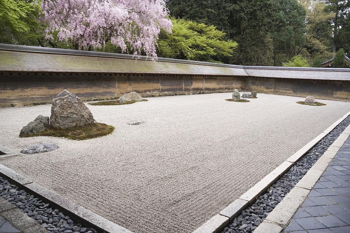 """Открытие сада камня """"Дух Японии"""""""