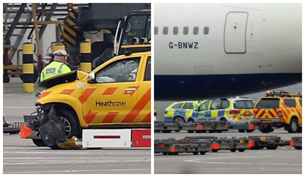 В аэропорту Хитроу в Лондоне столкнулись два самолета, погиб человек