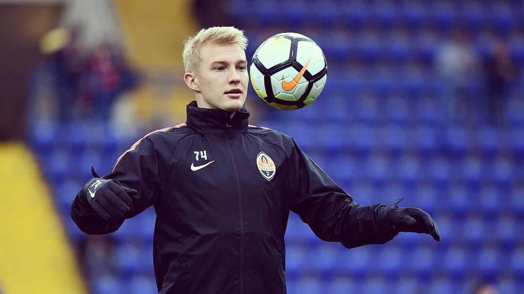 Один из самых перспективных футболистов Украины