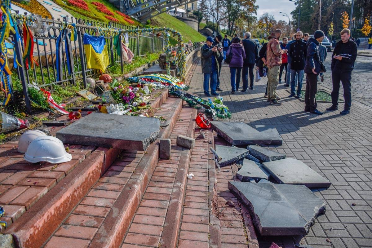 Чеканов разгромил Мемориал Небесной сотне