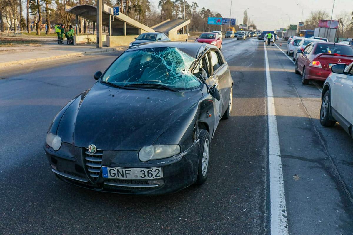 """Alfa Romeo - еще один """"литовец"""" в аварии"""