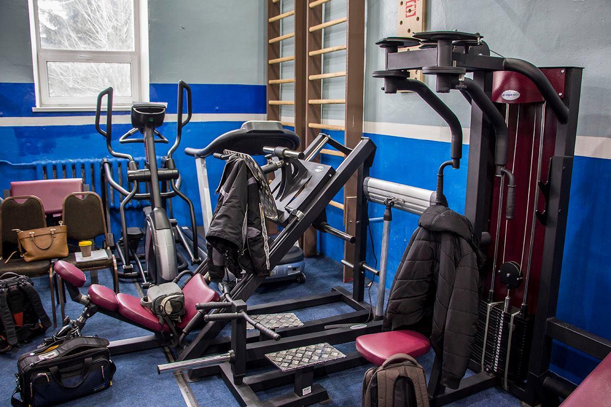 В Киеве открыли первый в Украине CrossFit зал для патрульных